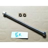 6分波紋管,可用於太陽能的出水管 熱水器不鏽鋼軟管 不銹鋼軟管 大流量 瓦斯熱水器軟管 白鐵管 白鐵浪管