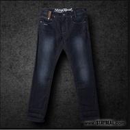 Stayreal Hangout牛仔褲 深藍 黑標XL