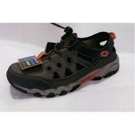 英德鞋坊 義大利第一品牌-LOTTO 男款探險者山水車三棲鞋 6073-咖啡 超低直購價690元