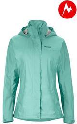 Marmot-美國-Wm's PreCip Jacket 女防水透氣外套-粉綠#46200-4669【樂山林戶外用品館】
