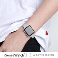 Original ใช้ Iwatch6สายคล้องเอวซิลิโคน Applewatch5se4รุ่น Apple Fine การเคลื่อนไหว Band