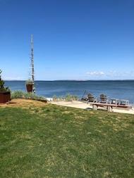 住宿 Private Beachfront House on Peconic Bay 勞雷爾, 紐約, 美國