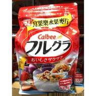 Costco 代購 CALBEE FRUIT GRANOLA 卡樂比富果樂水果早餐麥片1公斤