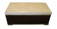 【尚品傢俱】625-22 奢華4.3尺爵士白石面大茶几(含腳椅*2)/客廳桌/會客桌/家庭桌/矮桌/長桌/收納桌