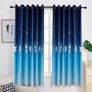 ผ้าม่านประตู ผ้าม่านหน้าต่าง (ผ้าหนา) กว้าง 1.0 X สูง 2.0 เมตร ผ้าม่านสำเร็จรูป ม่านตาไก่ หน้าต่าง ประตู ผ้ากันUV กันแดดได้ดีมากๆ