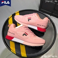 The New FILA shoes Pink Mesh Breathable sports outdoor women Shoes Wanita Kasut
