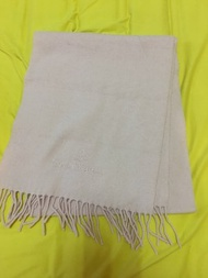 9.8成新 Vivienne Westwood 粉色羊毛圍巾