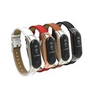 [贈保護貼] 小米手環3經典超纖皮革錶帶腕帶 替換錶帶