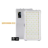 超薄 LituFoto F12全金屬 攝影燈 補光燈 LED 直播 白光 黃光 持續燈 手機拍攝公司貨自拍