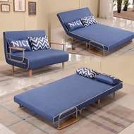 ∈Multi-function single person sofa bed folding sitting room small family amphibious lazy