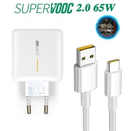 fast charger battery charger usb charger 🔥2020🔥OPPO REALME SUPERVOOC SUPERDART TYPE-C USB 65W FAST-CHARGE EU SPEC WITH