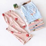 Plus Size 33-45ws Makapal Cotton Pajama For Women Pregnant Sleepwear Pants