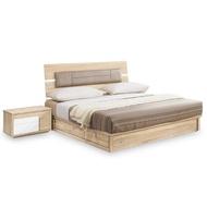 【時尚屋】多莉絲3.5尺床片型加大單人床-不含床頭櫃-床墊 NM7-33-4+33-5(免運費 免組裝 臥室系列)