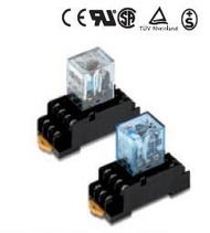 MY4N-J-AC100/110V (升級版 MY4N-GS-AC100/110V)  OMRON (附燈)小型功率繼電器RELAY(含稅)【佑齊企業 iCmore】