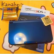 New 3DS LL 日規機 主機 N3DS💎尊爵藍 鏡面藍色 附32G燒錄卡 值得收藏 現貨 🌈絕美限時特價🎁