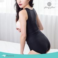 【Marena 瑪芮娜】強效完美塑形系列 護腰美背比基尼排扣型塑身衣 SFBHA