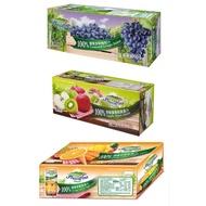 免運宅配到府🌸COSTCO線上代購🌸 嘉紛娜 100%  橙香、蘋果奇異果、葡萄多酚果汁 250毫升 X 24入