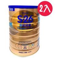 惠氏S-26金幼兒樂幼兒成長配方1-3歲1600g(2罐組合)