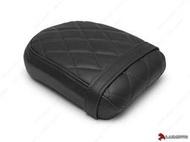 【摩托麻吉】加拿大 LUIMOTO 精品 椅墊套 HONDA REBEL 300 500 17 後座墊 菱格配色 #黑