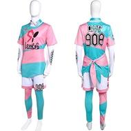 ✲寶可夢cos精靈寶可夢劍盾彼得cosplay服裝比賽服套裝現貨定制包郵