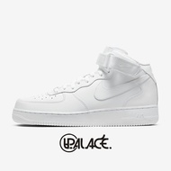 【NIKE】AIR FORCE 1 MID '07 AF1全白 中筒 休閒鞋 空軍一號 315123-111  (palace store)