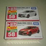 Tomica 58 Honda civic Type R