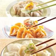 【123水餃】鮮蝦水餃+玉米豬肉水餃+高麗菜豬肉水餃(各2包)