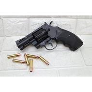 KWC 2.5吋 左輪 手槍 CO2槍 強化版 + CO2小鋼瓶 ( 轉輪手槍牛仔巨蟒蟒蛇PYTHON M357左輪槍
