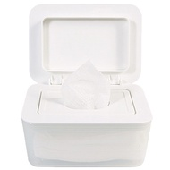 Hickies Simple Wet Tissue Dispenser White