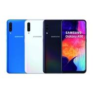 【SAMSUNG 三星】Galaxy A50 6G/128G 6.4吋(加贈-9H玻璃貼+空壓殼)