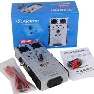 """Free shipping Alctron DB-4C TRS XLR RCA 1/4"""" 1/8"""" 2/4/8 Pin Speakon phone CAT5 Audio network Cable Detector Tester test tool"""