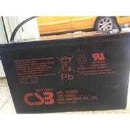 電池院長 整新品CSB GPL121000 12V100AH深循環電池太陽能 露營拖車 起重 不斷電
