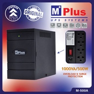 Home Appliances❁MPlus 4 Outlets Automatic Voltage Regulator AVR with Surge Protector 1000VA/500W