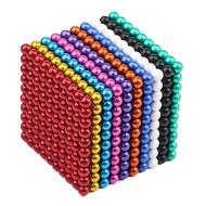 圓形吸鐵石玩具5mm巴克球磁力球1000顆 磁力魔方塊磁鐵百克球益智 格蘭小舖