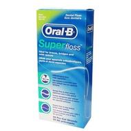 Oral B 歐樂B 三合一超級牙線 50條/包 (牙套矯正器必用) 專品藥局【2003233】