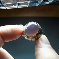 遼寧紫玉髓蛋面戒子……