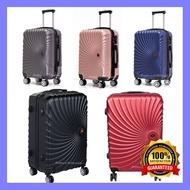 กระเป๋าสะพายเดินทาง กระเป๋าเดินทางล้อลาก ขนาด 20 24 นิ้ว กระเป๋าเดินทางABS ซิป2ชั้น ขยายได้ กับ ไม่ขยาย 4ล้อหมุนได้360องศา ราคาถูกที่สุด
