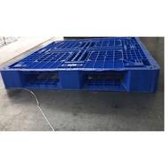 中古塑膠棧板九成新,網狀田字塑膠棧板(110x110)