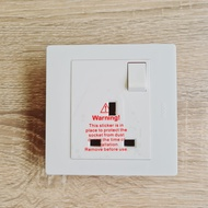 HAGER MUSE wall Mount switch /socket -White { Sg Seller}