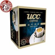 金時代書香咖啡【UCC】法式深焙濾掛式咖啡 8g*12入X2