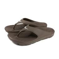 Everlast Clip Foot Slippers Flip Flops Waterproof Shoes Dark Coffee