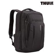 【Thule 都樂】Crossover 2 Convertible 14吋電腦20L雙肩後背包(C2BP-114 黑色)