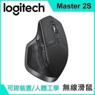 羅技 MX Master 2S 無線滑鼠 黑色 跨平台 跨機器 強強滾 人體工學