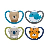 (with Exclusive Soothie Pacifier Box) Nuk Space Super Breathable Silicone Soothie Pacifier (0 - 6m / 6 - 18m / 18 - 36m)