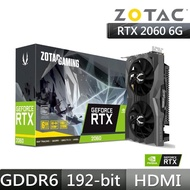【ZOTAC 索泰】GAMING GeForce RTX 2060 顯示卡