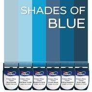 สีขนาดทดลอง Dulux Colour Play™ Tester - SHADES OF BLUE (6 ชิ้น)