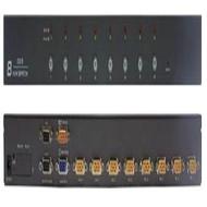PSTEK 19吋 8PORT   KVM  可上機架,PS2/USB 雙介面含8條線材  XD-808ID  本公司有現貨