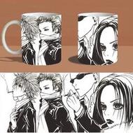 NANA變色杯馬克杯水杯動漫周邊陶瓷杯遇熱變色日本漫畫小說定制