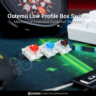 Outemu Low Profile Switches Mechanical Keyboard Dust-Proof Low-Profile Gaming Dustproof Switches