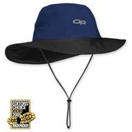 【美國 Outdoor Research】OR GTX Seattle Sombrero 熱賣 防水透氣防風牛仔大盤帽子/GORE-TEX 防曬吸濕排汗.登山健行/ 243505 深藍